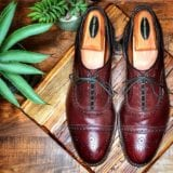 Allen Edmonds Strands in Oxblood