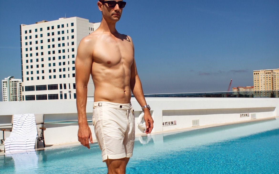 Hemingswoth Clipper swim shorts