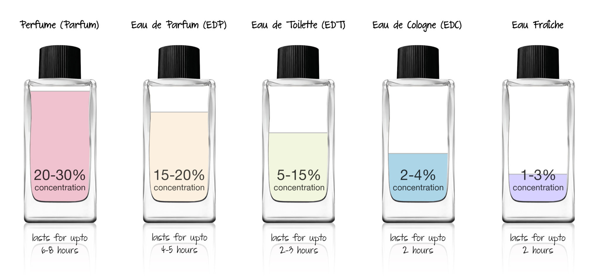 Parfum Concentration Percentages